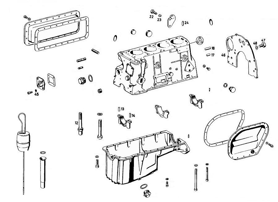 motor 190 sl nr mercedes benz oldtimer ersatzteile. Black Bedroom Furniture Sets. Home Design Ideas